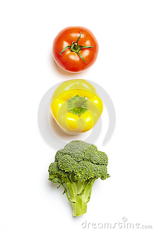 Free Vegetable Traffic Light Concept Royalty Free Stock Photo - 29165525