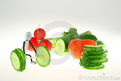 Vegetable weight-lifter