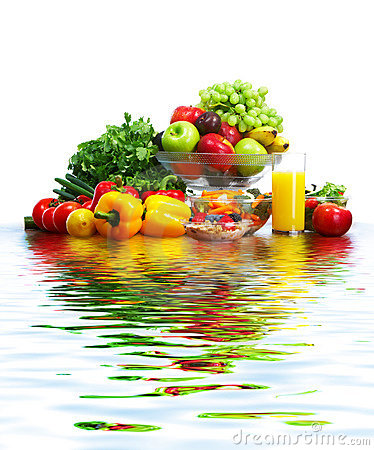 Free Vegetables And Fruits Stock Photos - 8211973