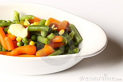 Vegetables in a bowl