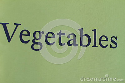 Vegetables on Canvas