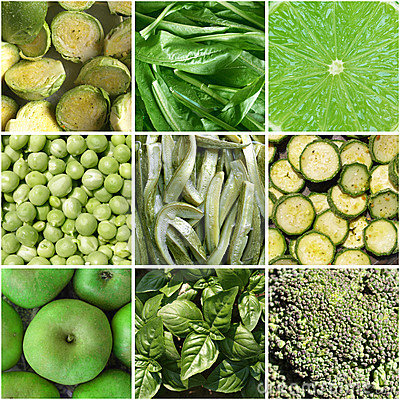 Free Vegetables Collage Stock Photography - 10033322