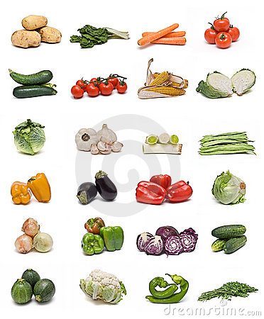 Free Vegetables Collection. Royalty Free Stock Photo - 12492025