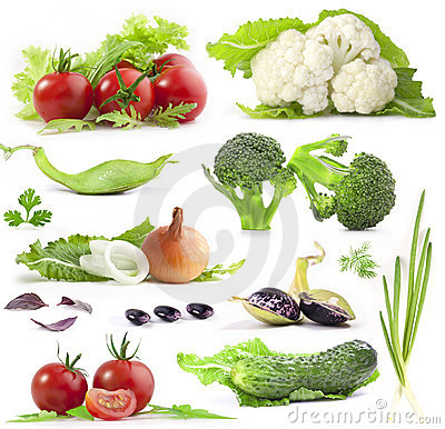 Free Vegetables Collection Royalty Free Stock Photo - 22544675