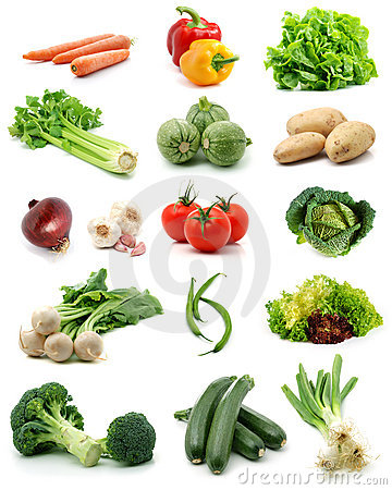 Free Vegetables Collection Royalty Free Stock Image - 5153166