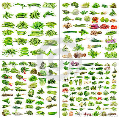 Free Vegetables Collection  On White Background Royalty Free Stock Photos - 40829468