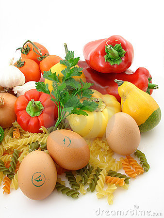 Vegetables and fresh food