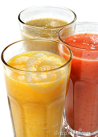 Vegetables And Fruit Smoothie Royalty Free Stock Photography - Image: 7645067