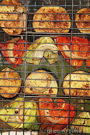 Vegetables a grill