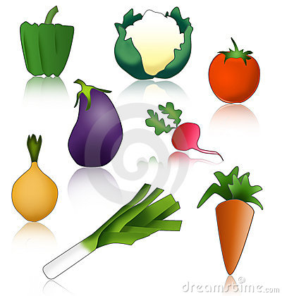 Vegetables healthy and funny