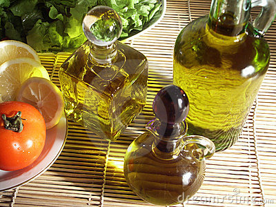 Vegetables and oliveoil