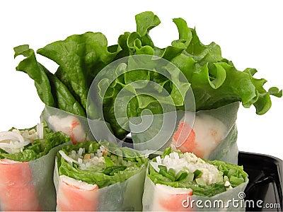 Vegetables rolls