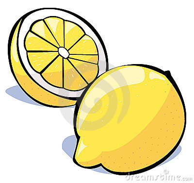 Vegetables series: lemons