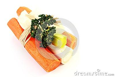 Vegetables for soup