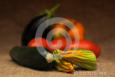 Vegetables still life