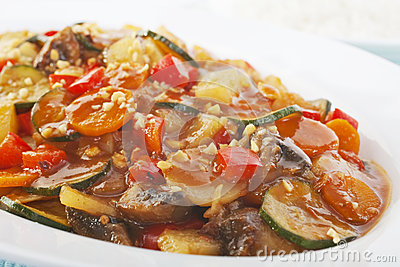 Vegetables in Sweet Sour Sauce