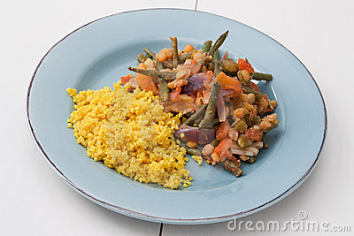 Vegetables Tajine