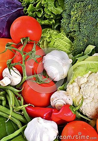 Vegetables Vertical