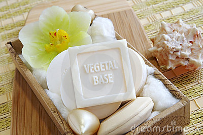 Vegetal based natural soaps