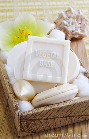 Vegetal based organic natural soaps
