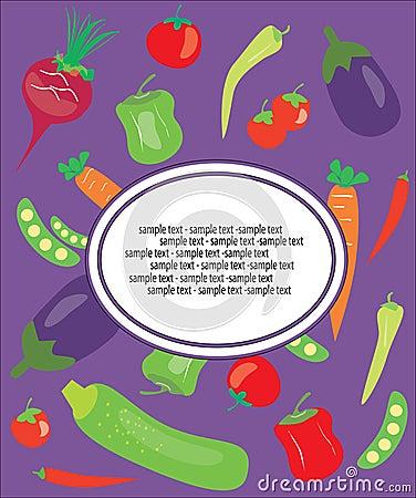 Vegetarian background