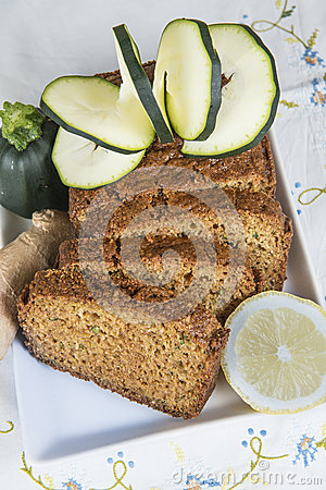 Vegetarian cake made with vegetables