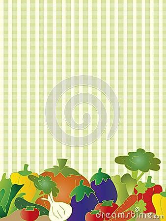 Vegetarian card
