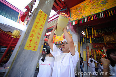 Vegetarian Festival Editorial Photography