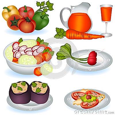 Free Vegetarian Food 1 Stock Photos - 19217773