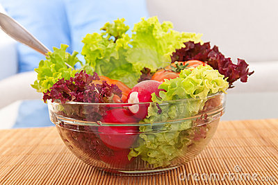 Vegetarian fresh salad
