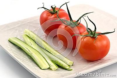 Vegetarian plate