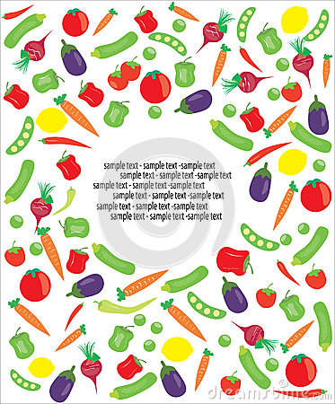 Vegetarian sample text
