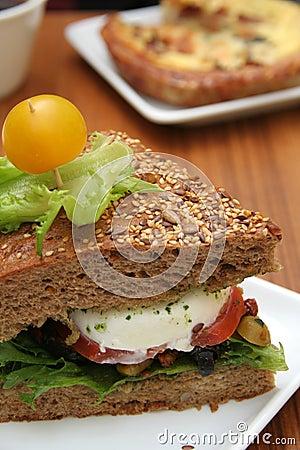 Free Vegetarian Sandwich Royalty Free Stock Photos - 10398448