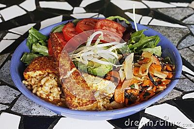 Vegetarian Tempeh Bowl