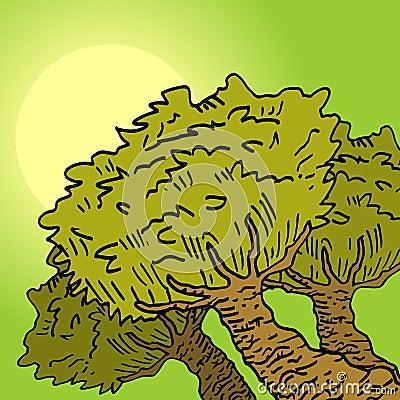 Vegetation relax