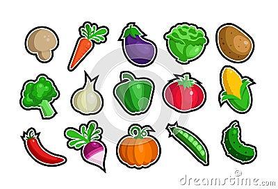Veggie icons