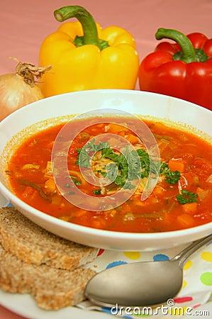 Free Veggie Soup Stock Photos - 7047803
