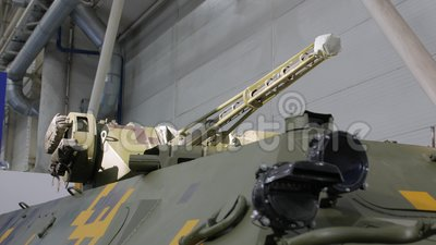 Vehículo blindado de armas almacen de video