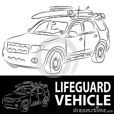 Vehículo del salvavidas