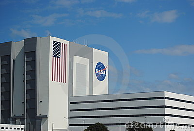 Vehicle Assembly Building, NASA Editorial Stock Image