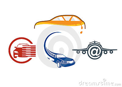 Vehicle auto logo template