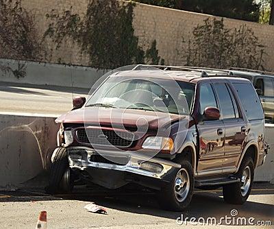 Vehicle in Car Crash