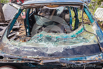 Vehicle Crash Windscreen