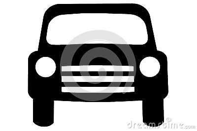 A vehicle illustrated
