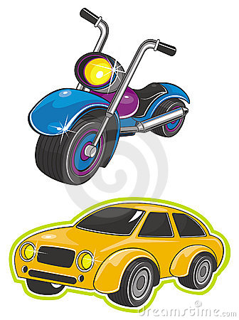 Vehicle and motorcycle