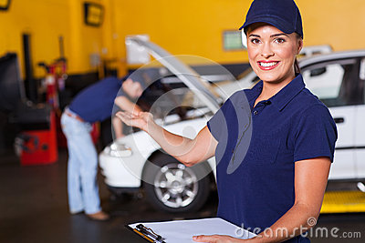 Vehicle service worker
