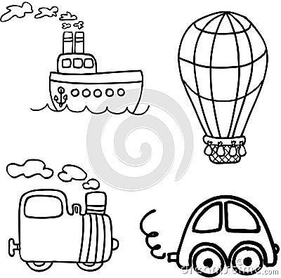 Vehicle vector set