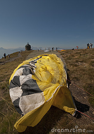 The Veil of a Paraglider