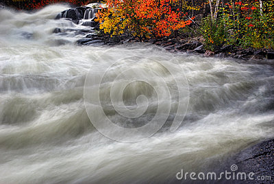 Veiled Autumn Rapids 1