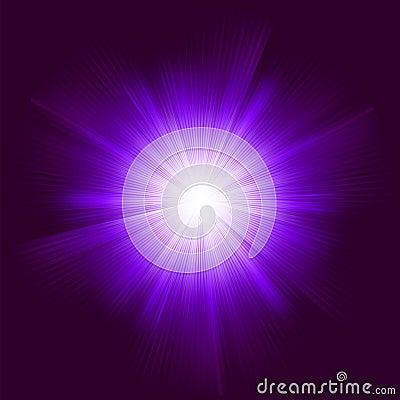 Vektor för bakgrundssignalljuslins